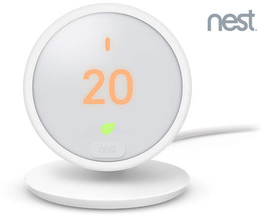 The Nest Thermostat E from First Utility.